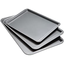 Kitchen Collection Non-Stick Cookie Sheets Set of 3