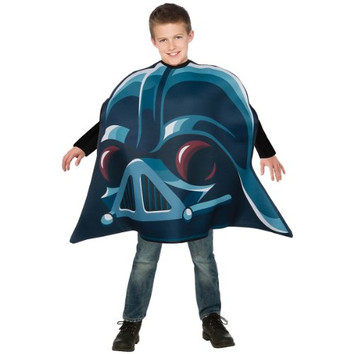 Angry Birds Star Wars Darth Vader Child's Costume Tunic, One -