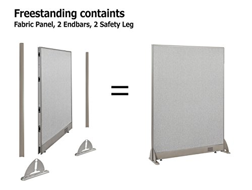 Merveilleux [January Special] GOF Office Freestanding Partition Room Divider Wall ...