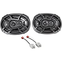 6x9 Kicker Front Factory Speaker Replacement Kit For 2006-2008 Dodge Ram 1500