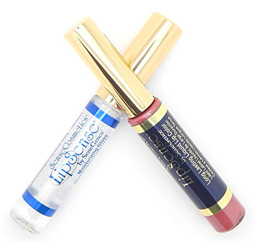 LipSense Bundle - 1 Color and 1 Glossy Gloss - CARAMEL APPLE ()