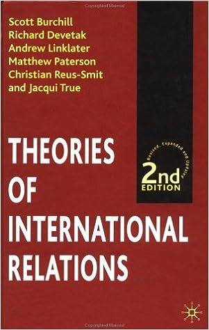 Theories of International Relations, Second Edition: Scott