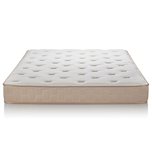Englander Finale 10-Inch Innerspring Mattress - Enjoy a Super Soft & Comfy Sleep - Ideal for Kids & Guest Beds - The Best Cheap Mattress for a Peaceful Night's Sleep - Beige - Queen - Made in USA