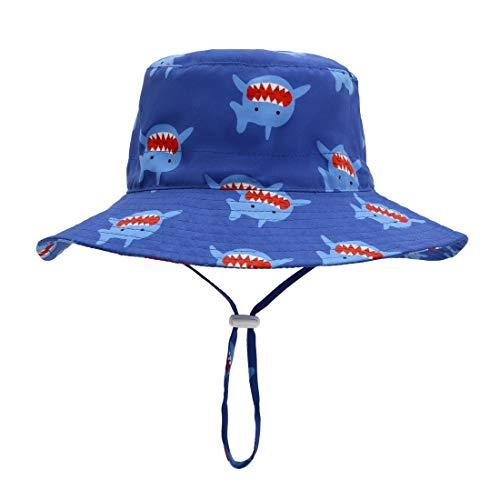 cf4111c7f334a ERISO Baby Boy Sun Hat - UPF 50+ Safari Bucket Outdoor Beach Summer Hat  Adjustable