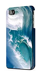 E1589 Amazing Oceans Waves Funda Carcasa Case para IPHONE 4 4S