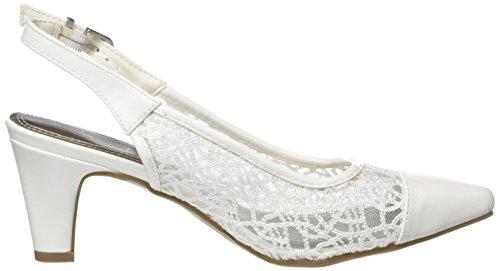 Jane Klain 296 148 - Tacones Mujer Weiß (WHITE)
