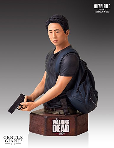 The Walking Dead Glenn Mini Bust Statue ()
