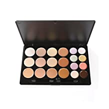 1 Set(20Colors) Professional Concealer Face Contouring Kit- Makeup Palette Eyeshadow Cream Highlight Cream Foundation Tools