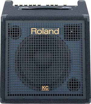 Roland 4-channel stereo mixing keyboard amplifier KC-350 by Roland