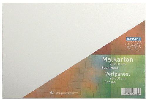10x Malkarton 20x30cm Malpappe