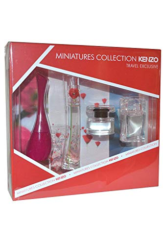 Cherry Mandarin Eau De Toilette - Kenzo 4 Piece Miniature Collection