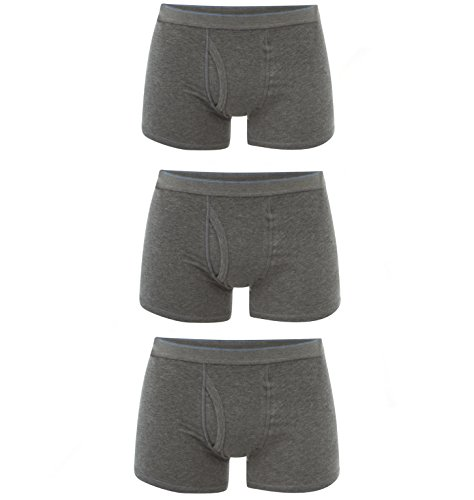 Pack Famous Fresh Shorts 3 Men's Grey Store And Boxer Cool rRxZORtw4n