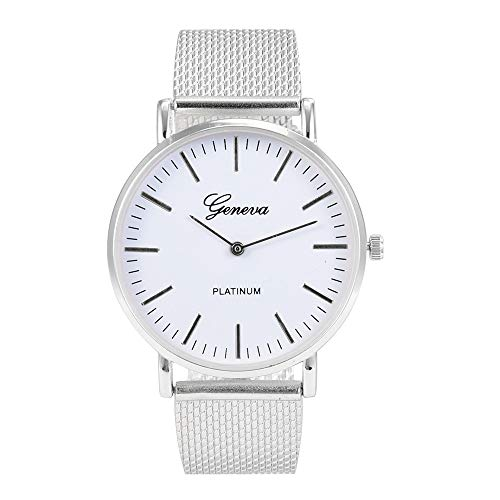 Men Slim Watch Stainless Steel Quartz Watch Mitiy Sport Military Dial Band Wrist Watch Ultra Thin