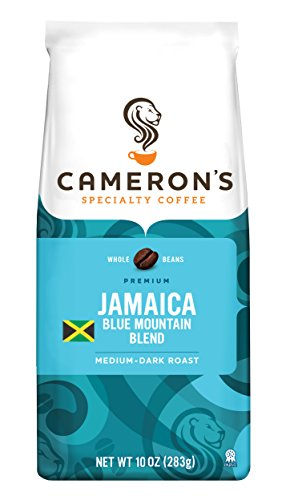 Cameron's Specialty Coffee, Jamaica Blue Mountain Blend, 10 Ounce, Whole Bean, Bag
