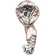 TitFus Classic Designer Inspired extended Plaid Scarf Wrap shawl throw large