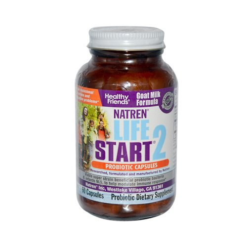 [Natren Life Start 2 (Goat Milk Formula) - 60 Capsules, 60-Count] (Goat Milk Digestion)