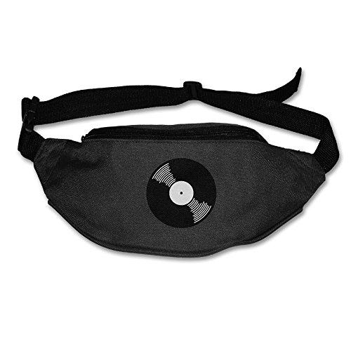 Alone Waist Bag Fanny Pack Vinyl Record Unisex Outdoor Sports Pouch Running Belt Fitness Travel Pocket Purse ()