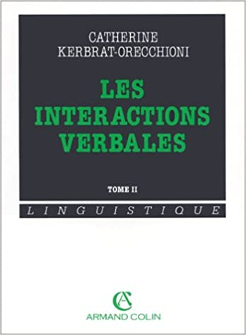 Livres Les Interactions verbales tome 2 pdf epub