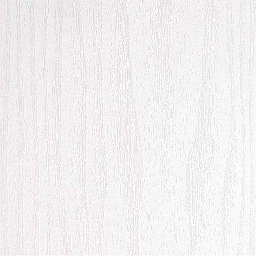 Moyishi Self Adhesive white wood grain furniture stickers PVC wallpaper cabinets Gloss Film Vinyl Counter Top Decal 24''x79'' by Moyishi (Image #1)