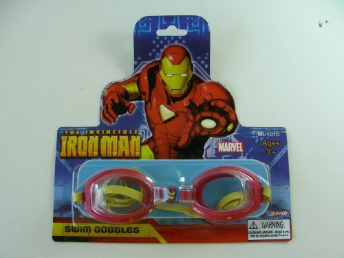 Kid Swim Goggles - Iron Man - Iron Goggles Man