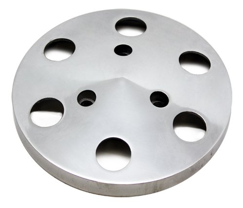 POLISHED ALUMINUM A/C AIR CONDITION CLUTCH COVER SANDEN #508 -
