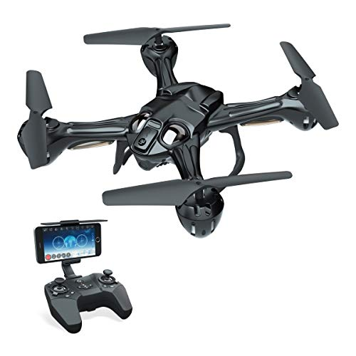 RC FPV Drone Quadcopter with 720P WiFi Camera for Beginners Adults Lefant Zeraxa PRO Fly Toy Drone RTF Quad Copter with Optical Flow, Headless Mode, Altitude Hold, 3D Flips, Waypoint Flight