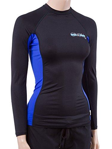 O'Neill Women's Premium Skins Upf 50+ Long Sleeve Rash - Skin Suit Woman