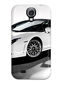 Bruce Lewis Smith Perfect Tpu Case For Galaxy S4/ Anti-scratch Protector Case (2009 Lamborghini Gallardo Lp560 4 Spyder)