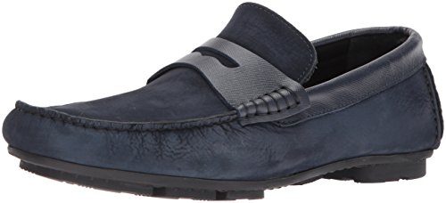 Bugatchi Men's Penny Moccasin Loafer Pisa Navy HvqFH1