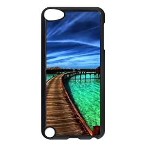 iPod Touch 5 Case Black Scenery V8386387