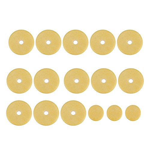 Replacement Flute - Dilwe 16 Pcs Flute Pads, Flute Pads Set Replacement Accessories for Flutes