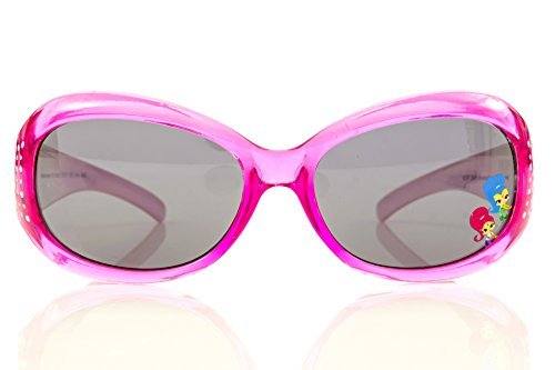 Nickelodeon Shimmer and Shine Girl's Sunglasses in Pink with Studs by an Oceanic Eyewear LTD