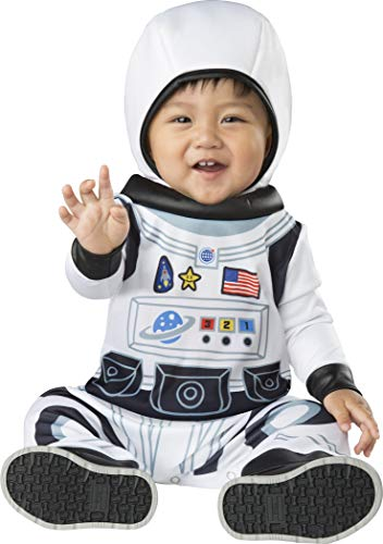 Fun World Baby Astronaut Tot Medium, Multi Color, M