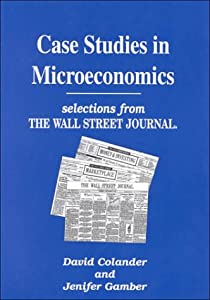 case study microeconomics Studies in microeconomics seeks high quality, analytically rigorous papers in all  areas of microeconomics (broadly defined) theoretical as well as applied (or.
