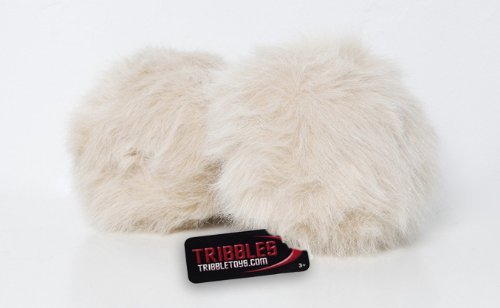 - Star Trek Tribble, Tan - New Dual Sound Version - Large Size