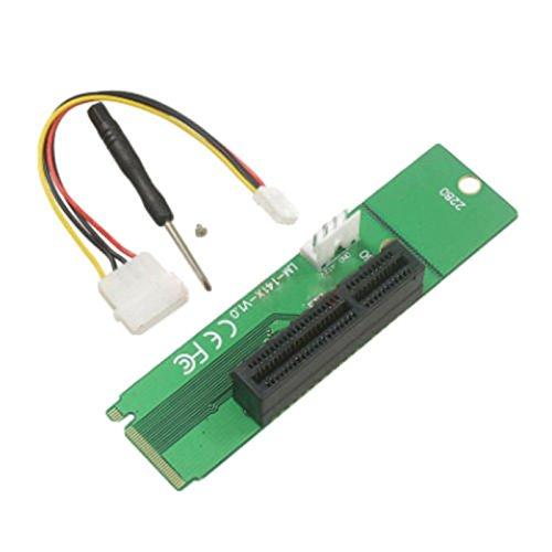 Hanbaili Ranura NGFF M2 para PCI-e 4X Tarjeta M-Key Riser M ...
