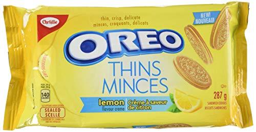 Oreo Thins Lemon, 287 Grams