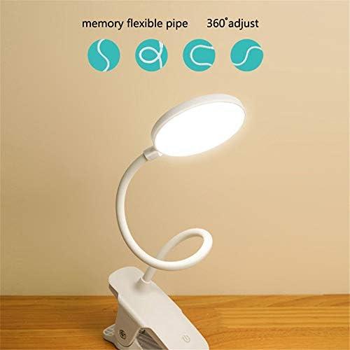 Lámpara De Mesa Con Clip Led Lámpara De Ojo De Carga Lámpara De Dormitorio Lámpara De Mesa Led3 Modo Lámpara De Ojo Dimmer Usb Led Lámpara De Escritorio Luz De Lectura: Amazon.es: