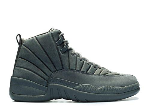 12 42 Da Dark Uomo Scarpe Nero Black Jordan Grey Grigio Basket qZ7PxAOqrn
