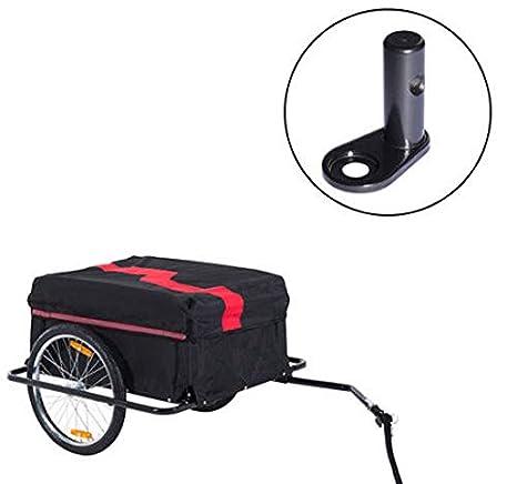Homcom - Pieza de acople de Repuesto para Enganche del Remolque Bicicleta de niños Bebes: Amazon.es: Hogar