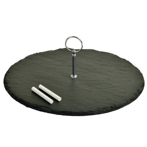 Picnic at Ascot Selva Slate Cheese Board with Soap Chalk