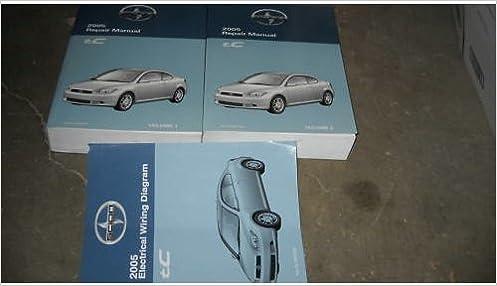 2005 Toyota Scion tC Service Shop Repair Manual Set OEM ... on