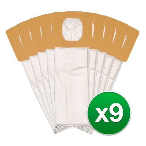 Ximoon 9 Pack Type Q HEPA Vacuum Bags for Hoover Platinum Upright Vacuums; Replace Hoover Part Nos. AH1017, AH10000, UH30010COM