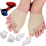 REFAGO 7pcs Bunion Corrector Toe Separator Set Hallux Valgus Straightener Foot Care Pain Relief