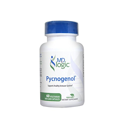 MD Logic Pycnogenol   100mg   60 Non-GMO Vegetarian Caps   French Maritime Pine Bark Extract by M.D. Logic