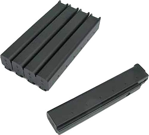 Evike King Arms 110rd Mid-Cap Magazines for Thompson Series Metal Gearbox Airsoft AEG (Package: Box Set of 5)