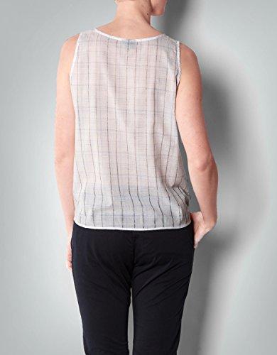 Gant Damen Bluse Baumwolle Blusenshirt Kariert, Größe: 36, Farbe: Blau