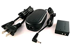 Fotga ACK-E12 AC Power Adapter For Canon Mirrorless EOS M Camera + DR-E12 DC Coupler