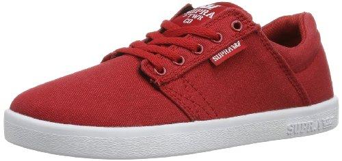 Supra KIDS WESTWAY S12014K Unisex-Kinder Sneaker Rot (RED - WHITE RDW)