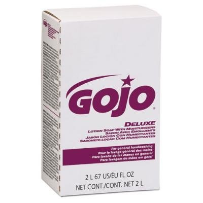 Deluxe Lotion Soap Refill 2000ml (Gojo Deluxe Lotion Soap - 4 count.)